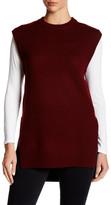 DKNY Sleeveless Faux Undershirt Tunic