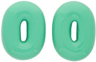 Uncommon Matters Green Torus Earrings