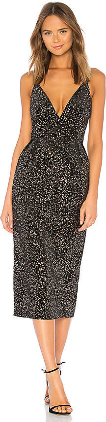 Jill Stuart Velvet Sequined Dress