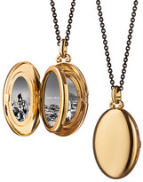 Monica Rich Kosann 18K Yellow Gold Four-Picture Locket with Diamonds