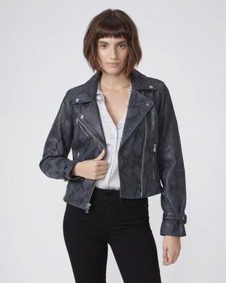 Paige Ashby Jacket-Grey/Black