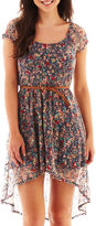 As U Wish Sleeveless Shift Dress-Juniors