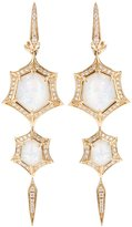 Stephen Webster 'Crystal Haze' quartz and diamond drop earrings
