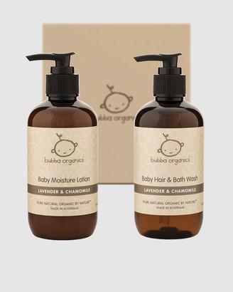 Bubba Organics Lavender and Chamomile Baby Bath and Body Gift Box