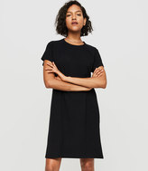 Lou & Grey Sueded Jersey Dress