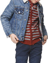 Dex Plaid Cotton Denim Jacket