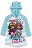 Komar Kids Monster High Minis Scary Cute Fleece Nightgown for girls (7/8)