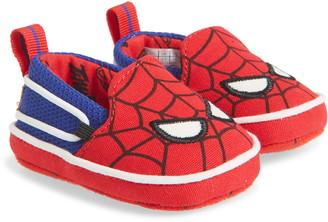 Toms x Marvel Lima Spider Man Slip-On Crib Shoe