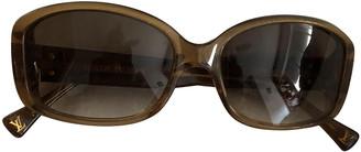 Louis Vuitton Gold Plastic Sunglasses