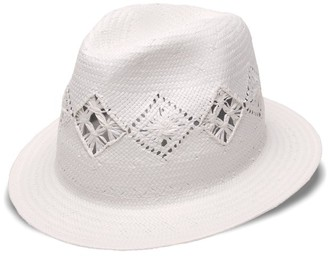 Physician Endorsed Women's Cady Panama Sun Hat with Straw Brim Rated UPF 50+ for Max Sun Protection