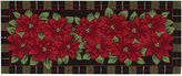 "Nourison Rugs, Holiday Poinsettia 22"" x 54"" Runner"