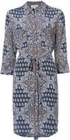L'Agence floral print shirt dress
