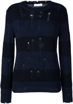 IRO Tys distressed striped sweater
