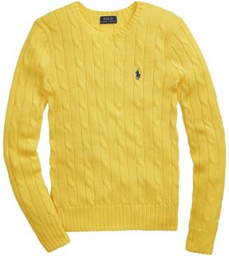 Ralph Lauren Pima Cotton Cable-Knit Sweater