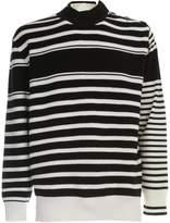 Sacai Stripe Knit Pullover