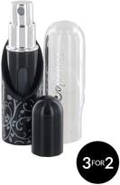 Travalo Refillable Perfume Sprayer Black 5ml