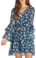Billabong Women's Stevie Sunday Ruffle Print Dress