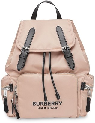 Burberry The Medium logo-print backpack