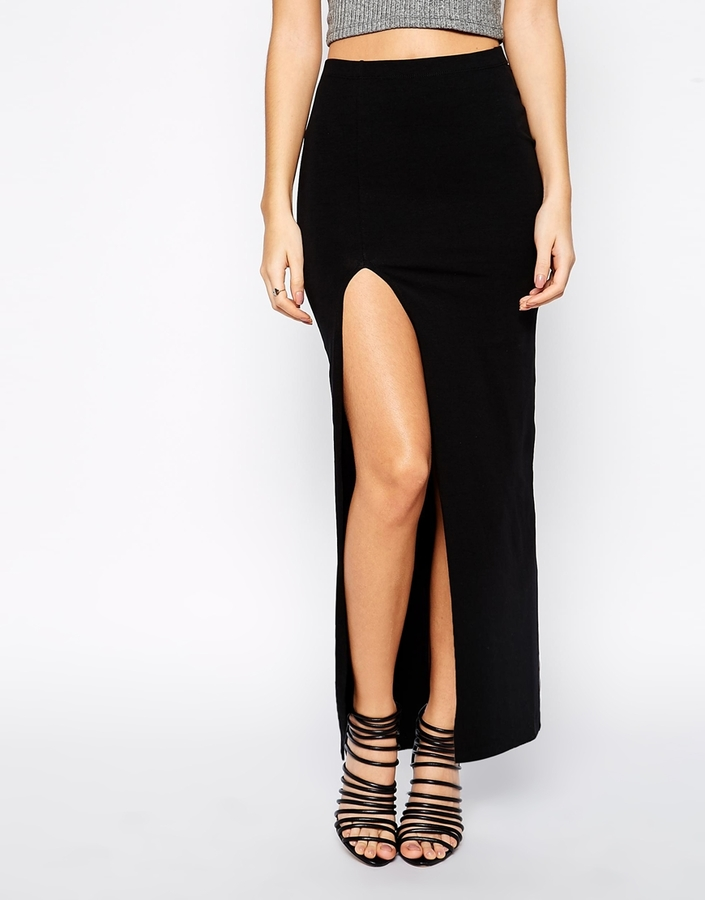 Asos Maxi Skirt with Split