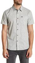 Volcom Goodwin Printed Modern Fit Short Sleeve Shirt