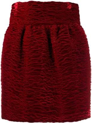 Saint Laurent ruffled mini skirt