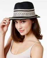 BCBGeneration Stripe Fedora
