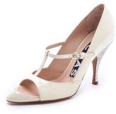 Rochas T-Strap Heels