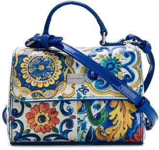 Dolce & Gabbana Majolica print bag