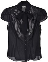 Zac Posen Black Silk Top for Women