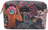 Paul Smith animals print clutch - men - Calf Leather/Polyester - One Size