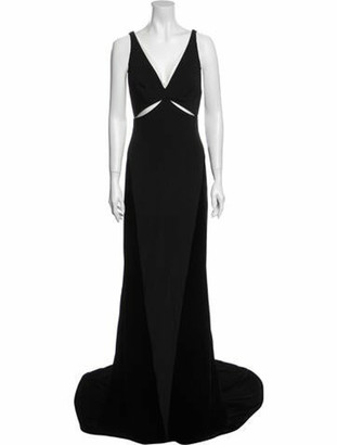 Stella McCartney 2013 Long Dress w/ Tags Black