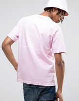 Huf T-shirt With Triple Triangle Back Print