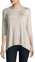 Lord & Taylor Dolman Sleeved Knit Top