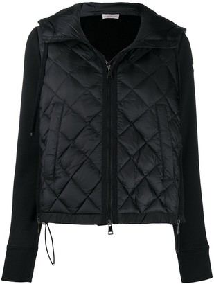 Moncler Panelled Quilted Jacket