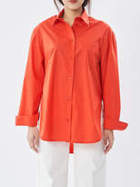 P & Lot Solid Oversize Shirt