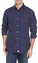 Vineyard Vines Men's Murray Blue Spruce Classic Fit Plaid Sport Shirt