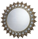 Lazy Susan Sunburst Decorative Wall Mirror Gold