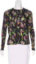 Jean Paul Gaultier Printed Button-Up Top
