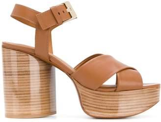 Clergerie Vianne wooden platform sandals
