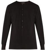 Lemaire Cotton-jersey Henley Sweatshirt