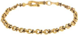 John Varvatos Plain Double Round Chain Bracelet
