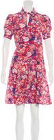 Tara Jarmon Silk Floral Print Dress w/ Tags
