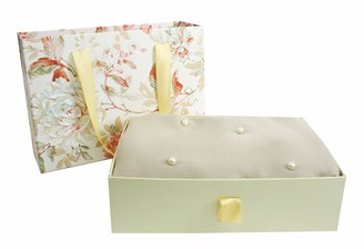 Emartbuy Super Soft Warm Cosy Pearls Shawl Scarf Stole Wrap in Gift Box Beige