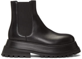 Burberry Black Braemar Boots