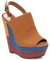 Jessica Simpson Radina Leather Platform Wedge Sandals