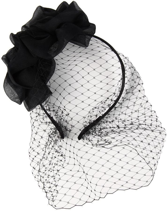 Jane Tran Flower Blossom Birdcage Headband