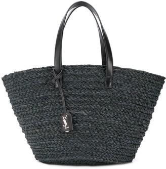 Saint Laurent Panier medium woven style bag
