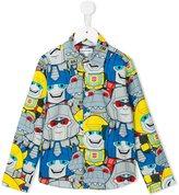 Au Jour Le Jour Kids Transformers print shirt