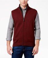 Tricots St Raphael Men's Faux Sherpa Lined Vest