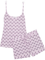 Equipment Layla Printed Washed-silk Pajama Set - Baby pink